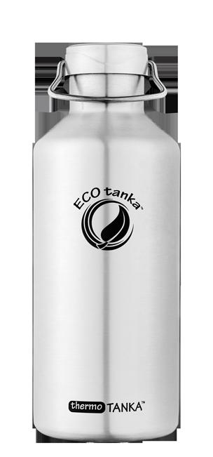 ECOtanka thermotanka 800ml with stainless steel Modern lid