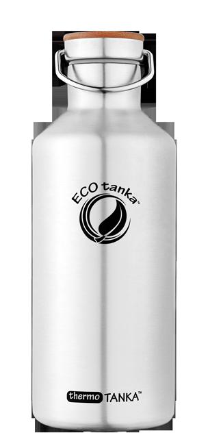 ECOtanka thermotanka 800ml with stainless steel bamboo lid