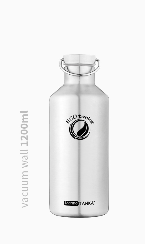 Vacuum Wall 1200ml Stainless Bottle