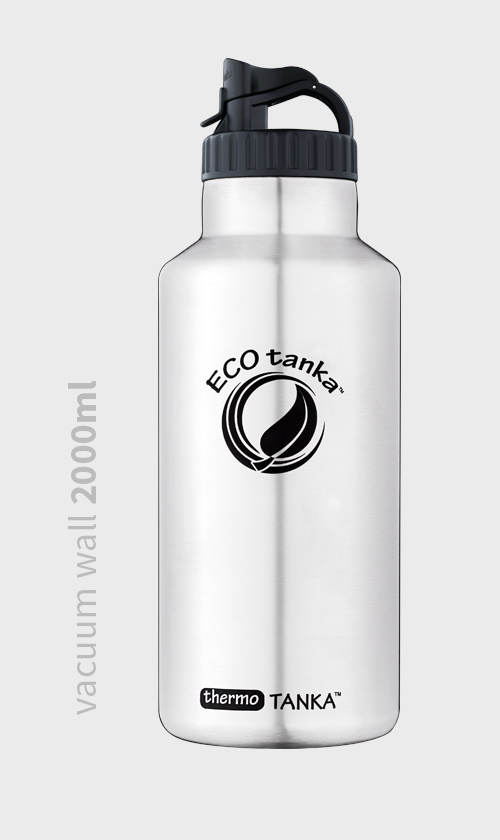 Vacuum Wall 2000ml Stainless Bottle